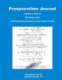 Prespacetime Journal Volume 5 Issue 13