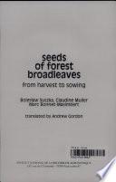 Seeds of Forest Broadleaves