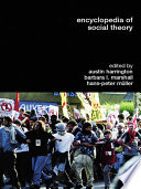 Encyclopedia Of Social Theory PDF