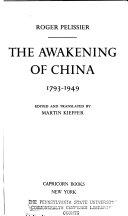 The Awakening of China  1793 1949