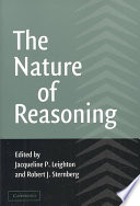 The Nature Of Reasoning Book PDF