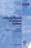 Unifying Themes in Complex Systems VII Book