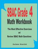 SBAC Grade 4 Math Workbook