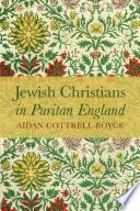 Jewish Christians In Puritan England