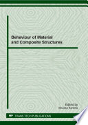 Behaviour of Material and Composite Structures Book