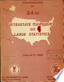 Proceedings of Interstate Conference on Labor Statistics