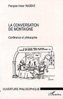 Pdf LA CONVERSATION DE MONTAIGNE Telecharger