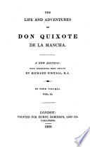 The Life And Adventures Of Don Quixote De La Mancha