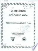 White Sands Resource Area Book PDF