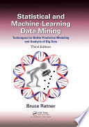Statistical And Machine Learning Data Mining  Book PDF