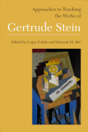 Approaches to teaching the works of Gertrude Stein