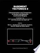 Basement Tectonics 8