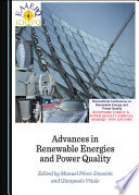 Advances in Renewable Energies and Power Quality