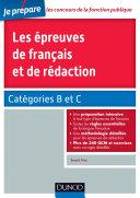 Pdf Les épreuves de français et de rédaction - Concours fonction publique - Catégories B et C Telecharger