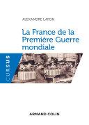 Pdf La France de la Première Guerre mondiale Telecharger