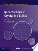 Imperfections in Crystalline Solids