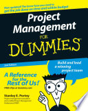 List of Dummies Project Management E-book