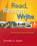 Read  Reason  Write   book alone