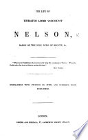 The Life of Horatio, Lord Viscount Nelson