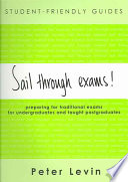 Student Friendly Guide Sail Through Exams  Book PDF