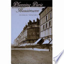 Planning Paris Before Haussmann Book PDF