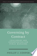 Governing by Contract
