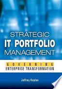 Strategic IT Portfolio Management