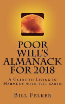 Poor Will's Almanack for 2018