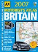 AA Motorist s Atlas Britain  2007