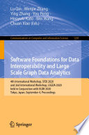 Software Foundations for Data Interoperability and Large Scale Graph Data Analytics Book