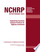 Engineering Economic Analysis Practices for Highway Investment Book