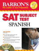 Barron's SAT Subject Test Spanish