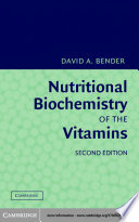 Nutritional Biochemistry of the Vitamins Book