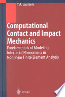 Computational Contact And Impact Mechanics Book PDF