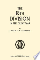 The 18th Division In The Great War Book