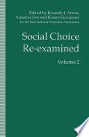Social Choice Re Examined