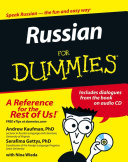 Pdf Russian For Dummies Telecharger
