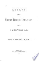 Literary criticisms