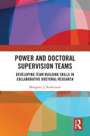 Power and Doctoral Supervision Teams