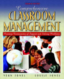 Comprehensive Classroom Management Book