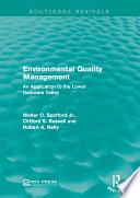 Environmental Quality Management