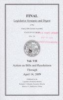 Legislative Synopsis and Digest