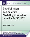Low Substrate Temperature Modeling Outlook of Scaled n-MOSFET