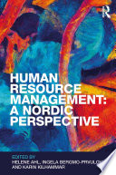Human Resource Management  A Nordic Perspective