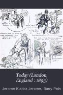 Today  London  England   1893  Book