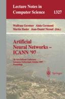 Artificial Neural Networks Icann  97
