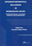 Read Online Intergovernmental Relations in Democratic Spain For Free