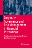Corporate Governance and Risk Management in Financial Institutions