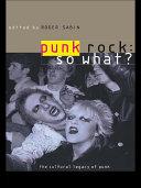 Pdf Punk Rock: So What? Telecharger