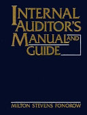 Internal Auditor's Manual and Guide